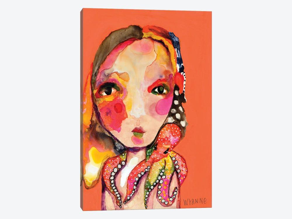 Clingy Shoulder by Wyanne 1-piece Canvas Art Print