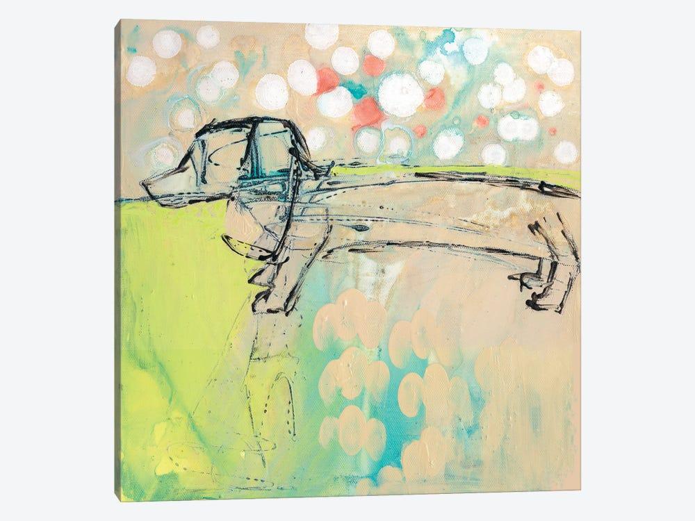 Dachshund by Wyanne 1-piece Canvas Art