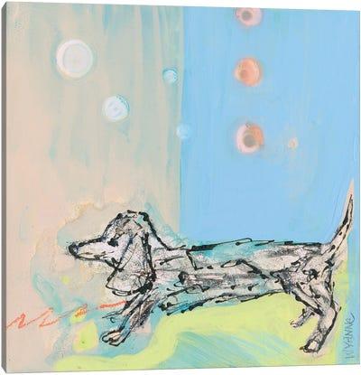 Doxie Stretch Canvas Art Print