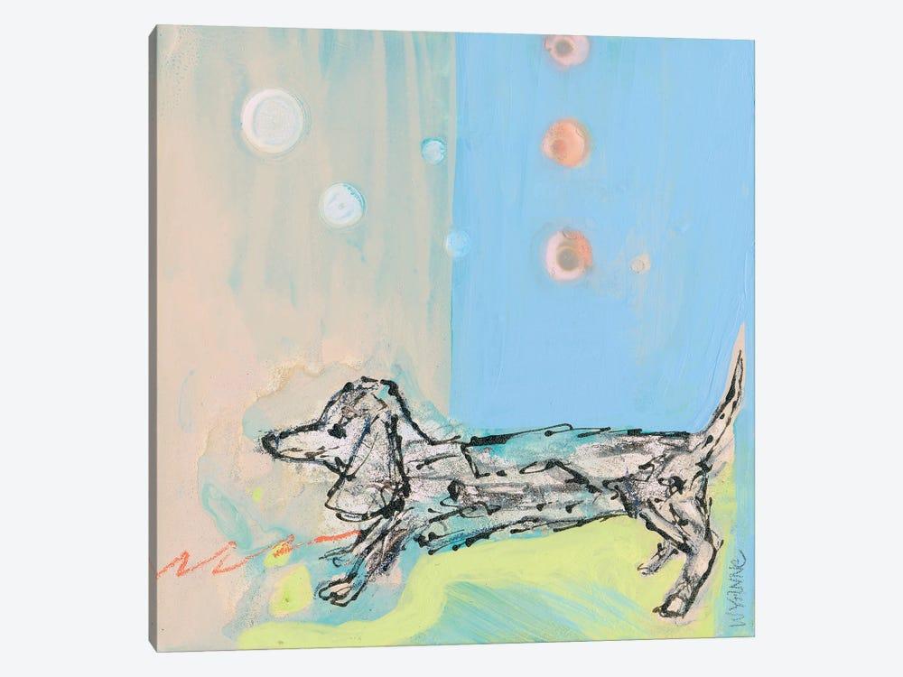 Doxie Stretch by Wyanne 1-piece Canvas Art