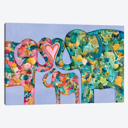 Family Love Canvas Print #WYA71} by Wyanne Canvas Art