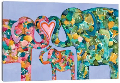 Family Love Canvas Art Print