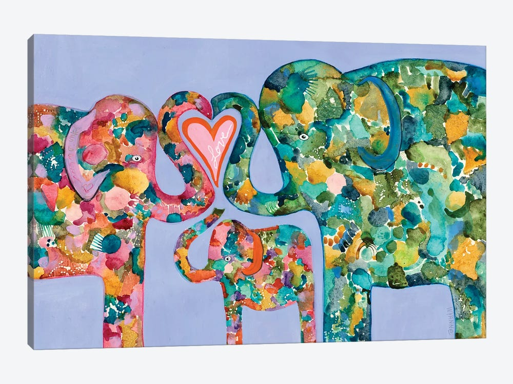 Family Love by Wyanne 1-piece Canvas Wall Art