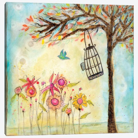 Free To Be Canvas Print #WYA72} by Wyanne Canvas Artwork