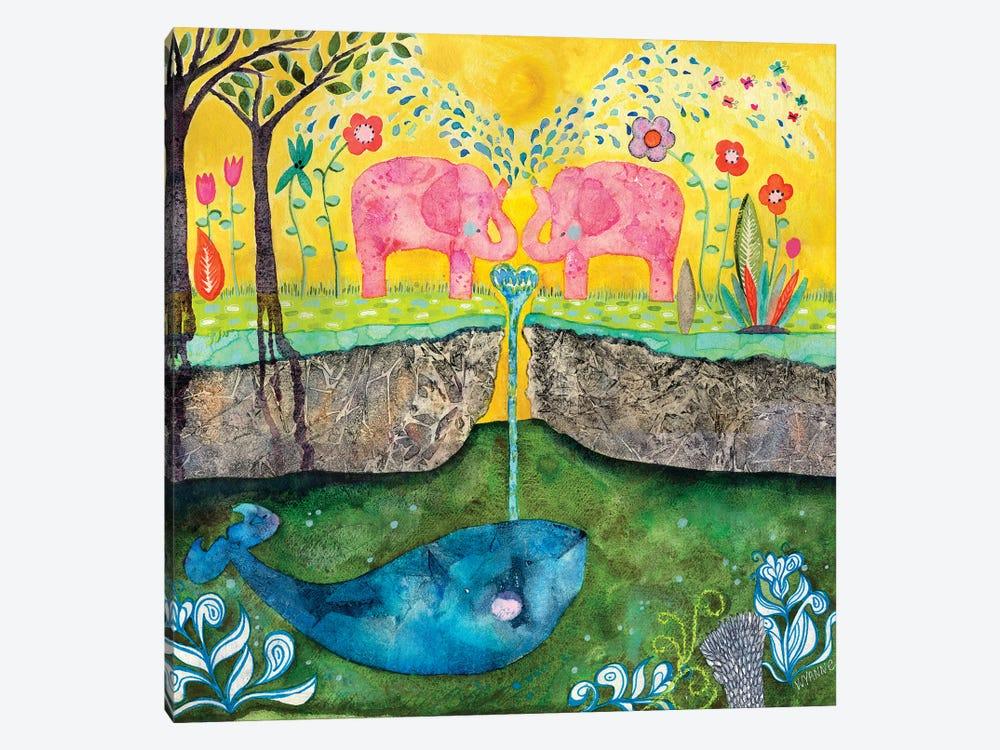 Love Always Flows by Wyanne 1-piece Canvas Artwork