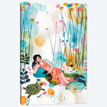 Me Time Canvas Print #WYA82} by Wyanne Canvas Print