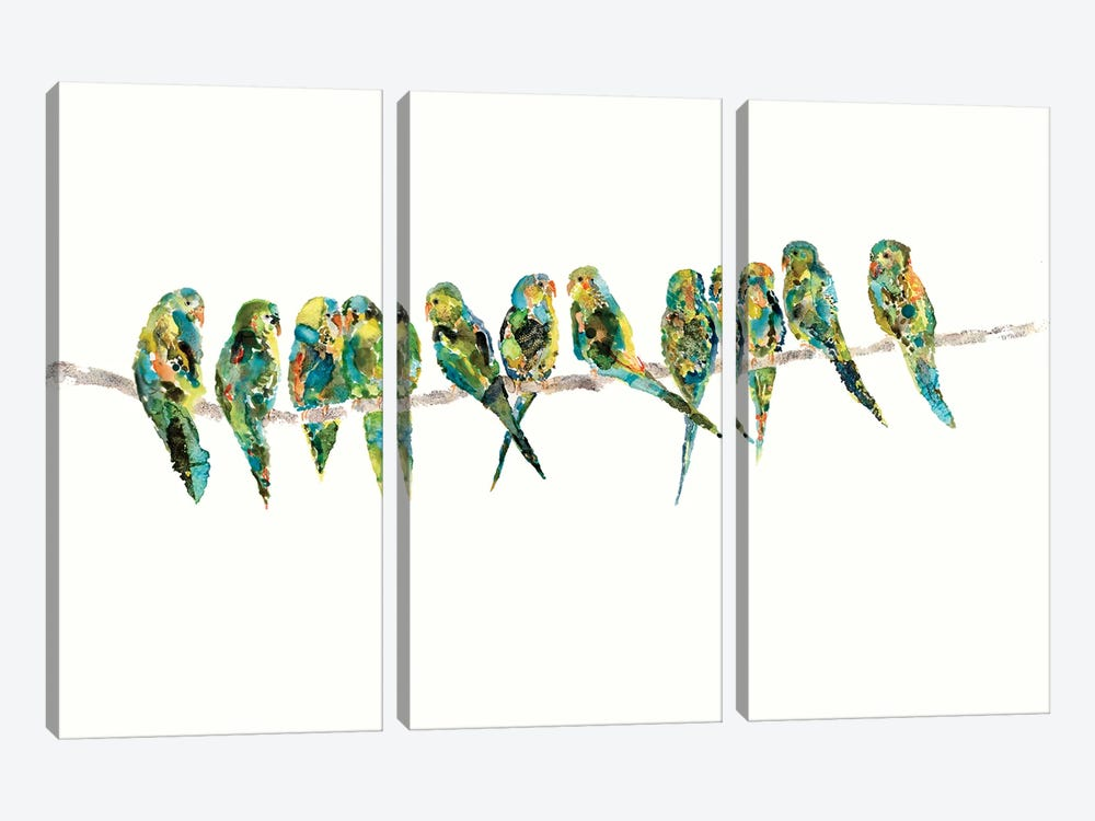 Perch by Wyanne 3-piece Canvas Art