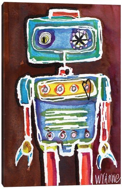 Robot Boy Canvas Art Print