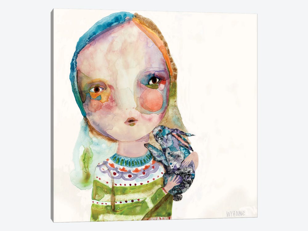 Snuggle Spot by Wyanne 1-piece Canvas Print