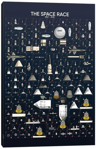 The Space Race Canvas Art Print