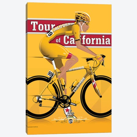 Tour Of California 3-Piece Canvas #WYD38} by WyattDesign Canvas Art Print