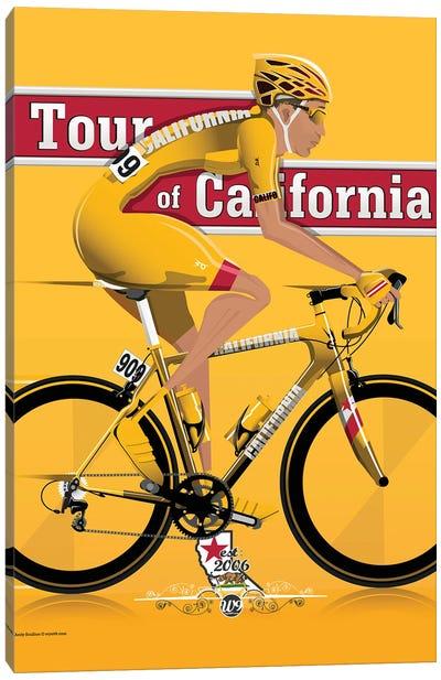 Tour Of California Canvas Art Print