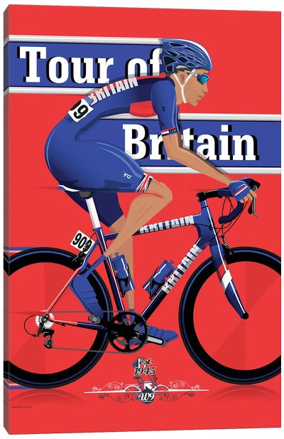 Tour Of Britain Canvas Art Print