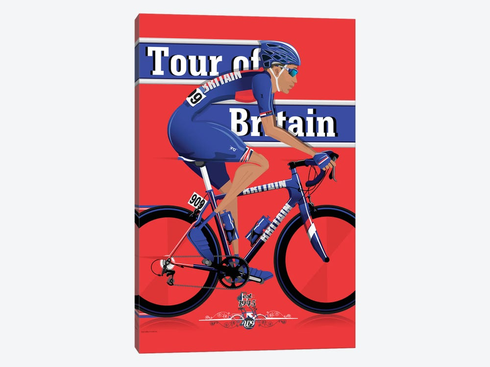 Tour Of Britain 1-piece Canvas Art