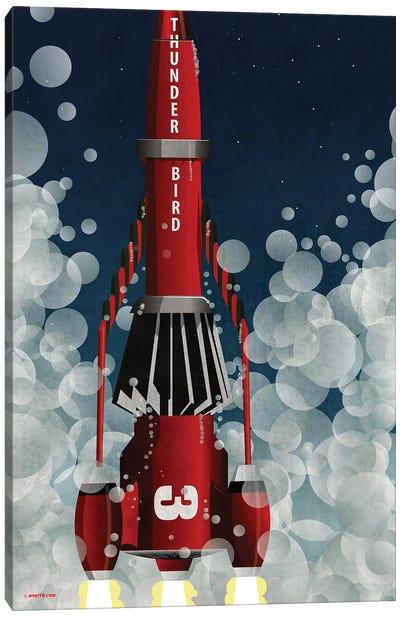 Thunderbird 3 Canvas Art Print