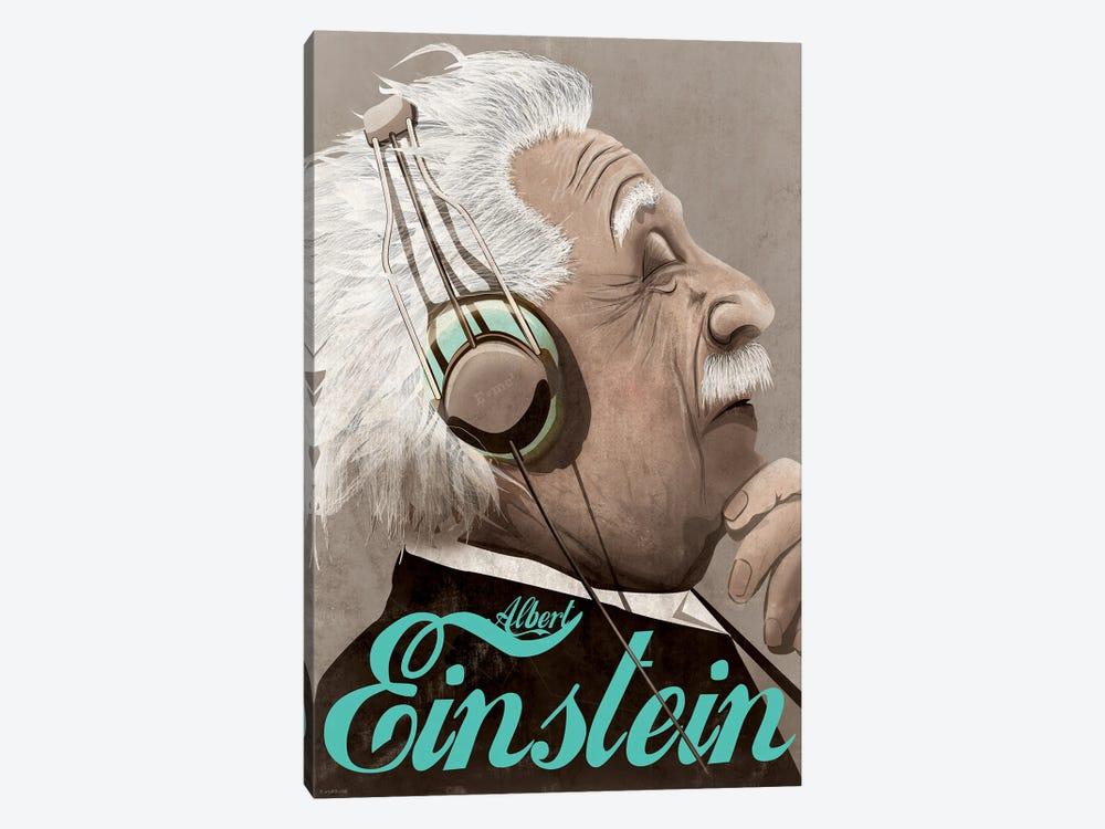 Albert Einstein by WyattDesign 1-piece Canvas Art