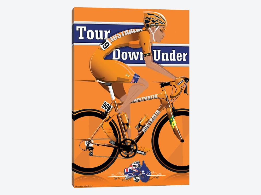 Tour Down Under by WyattDesign 1-piece Canvas Art Print