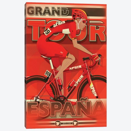 Vuelta A EspañA Canvas Print #WYD8} by WyattDesign Canvas Art