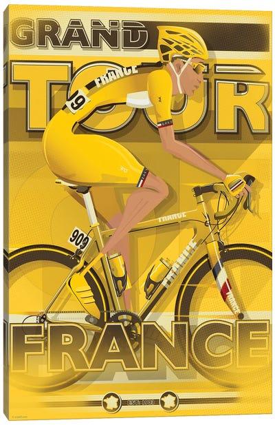 Tour De France Canvas Art Print