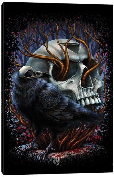 Graveyard Canvas Art Print