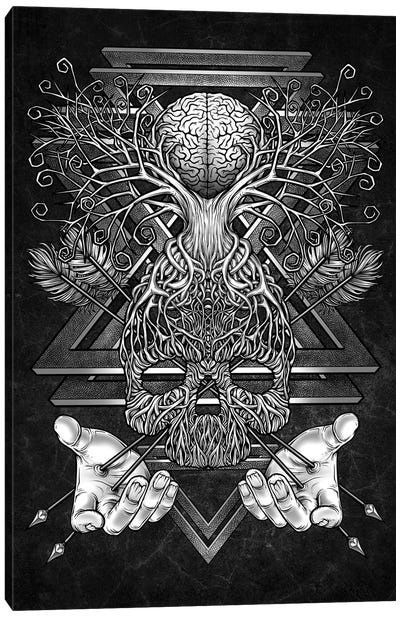 Beyond Intelligence II Canvas Art Print