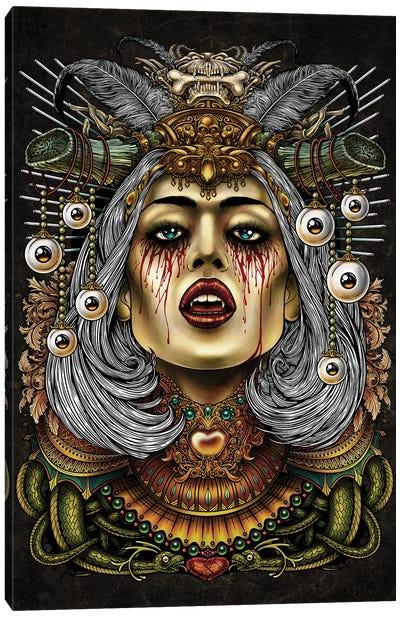 Queen Of Death Canvas Art Print