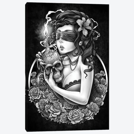 Third Eye Warrior Canvas Print #WYS26} by Winya Sangsorn Canvas Wall Art