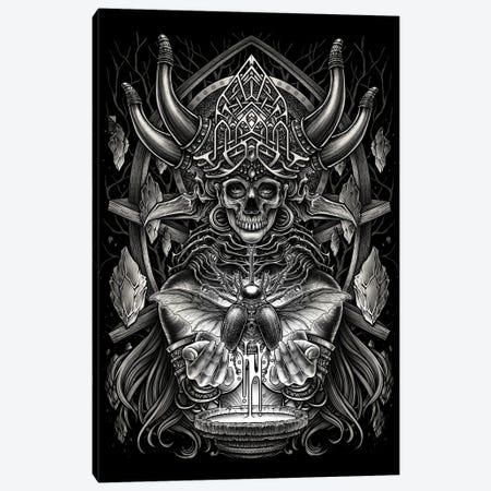 God Of Death Canvas Print #WYS36} by Winya Sangsorn Canvas Art Print