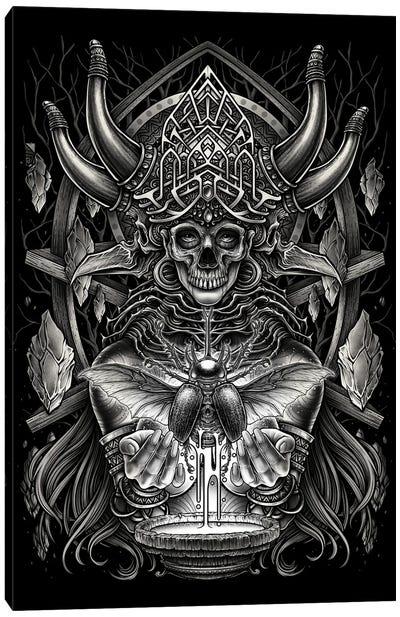 God Of Death Canvas Art Print