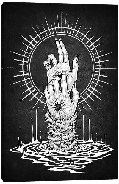 Hands Pain Canvas Art Print