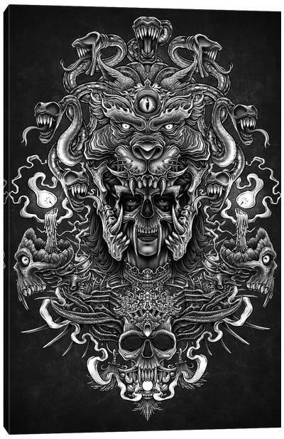 God Od Death Canvas Art Print