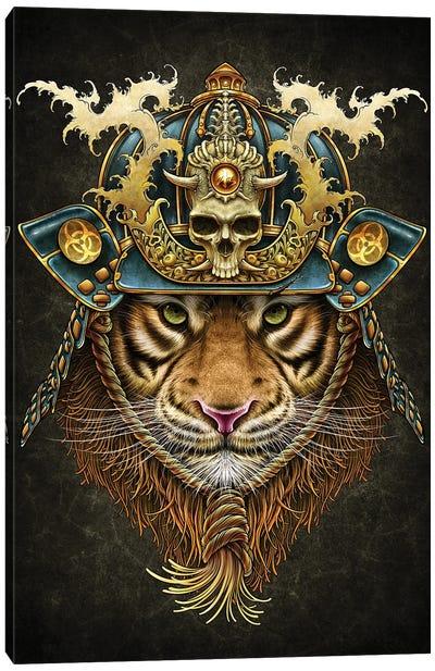 Samurai Tiger Canvas Art Print