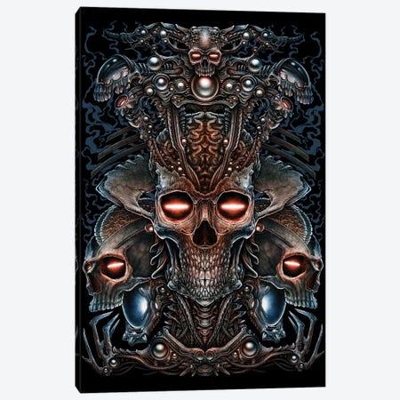 Queen Alien Head Canvas Print #WYS56} by Winya Sangsorn Canvas Print