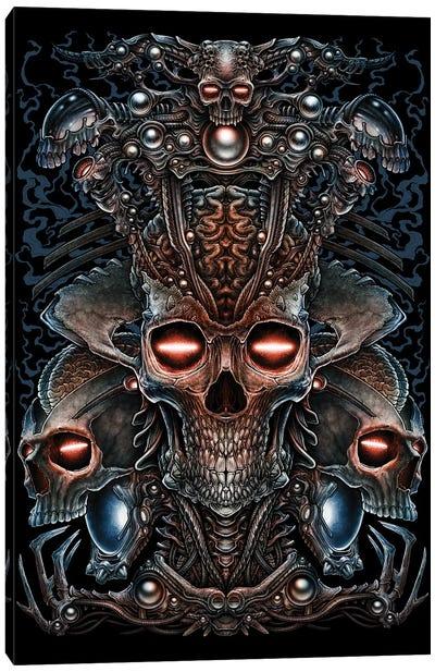 Queen Alien Head Canvas Art Print