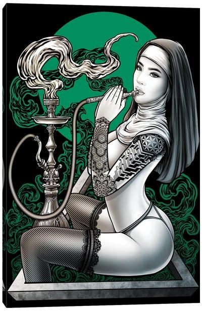 Cannabis Health Terapy Canvas Art Print