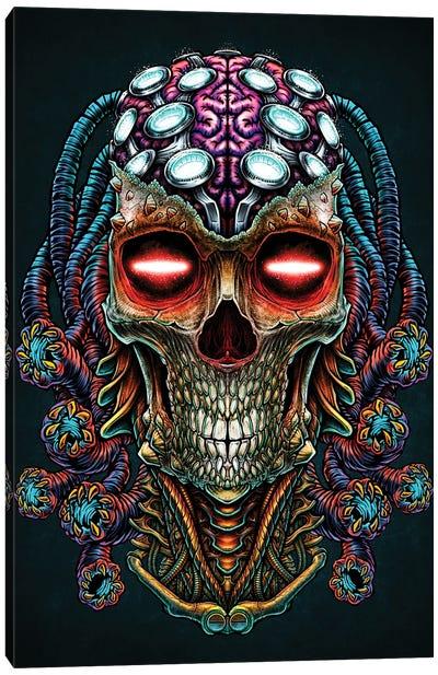 Predator Head Canvas Art Print