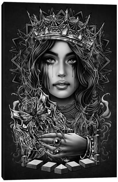 Myterious Princess Canvas Art Print