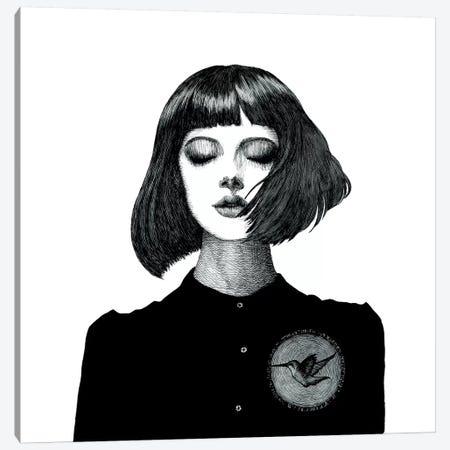 Fluttering Heart Canvas Print #XAN12} by Anastasia Alexandrin Canvas Artwork