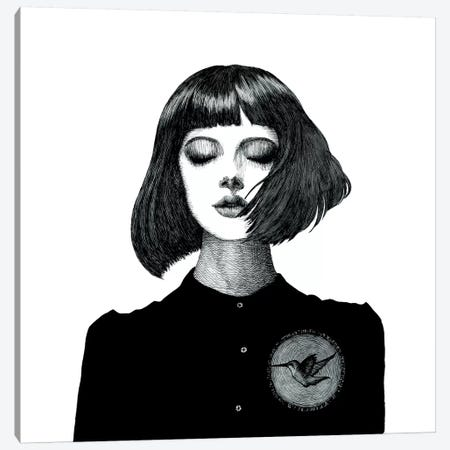 Fluttering Heart 3-Piece Canvas #XAN12} by Anastasia Alexandrin Canvas Artwork
