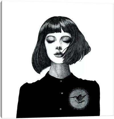 Fluttering Heart Canvas Art Print