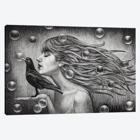 Fly Indiscriminantly Canvas Print #XAN14} by Anastasia Alexandrin Art Print