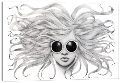 Gravity Zero Canvas Art Print
