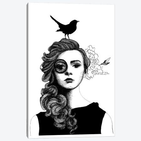 Humming +1 Canvas Print #XAN17} by Anastasia Alexandrin Canvas Art Print