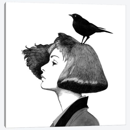 Ingrid Canvas Print #XAN19} by Anastasia Alexandrin Canvas Wall Art