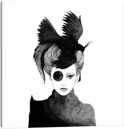 Ms. Peragwin Canvas Art Print