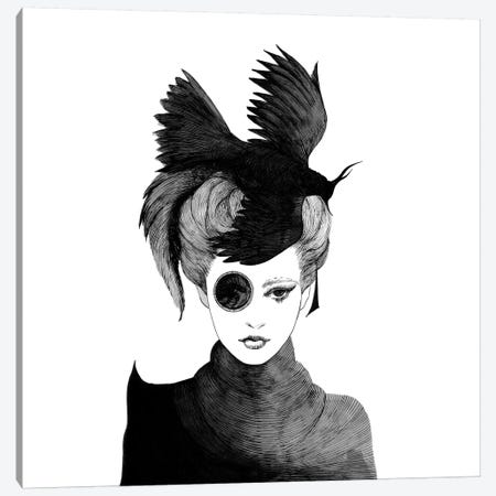 Ms. Peragwin Canvas Print #XAN26} by Anastasia Alexandrin Canvas Art