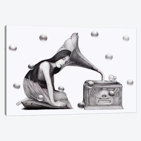 Music's Heartbeat Canvas Print #XAN27} by Anastasia Alexandrin Canvas Art