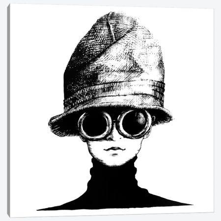The Hat 3-Piece Canvas #XAN41} by Anastasia Alexandrin Art Print