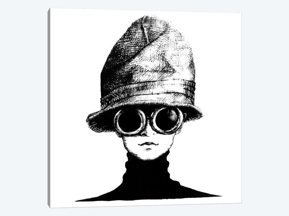 The Hat by Anastasia Alexandrin 1-piece Art Print