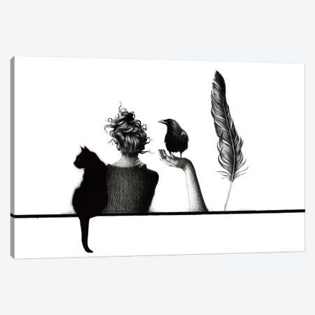The Line Of Beauty Canvas Print #XAN42} by Anastasia Alexandrin Canvas Print